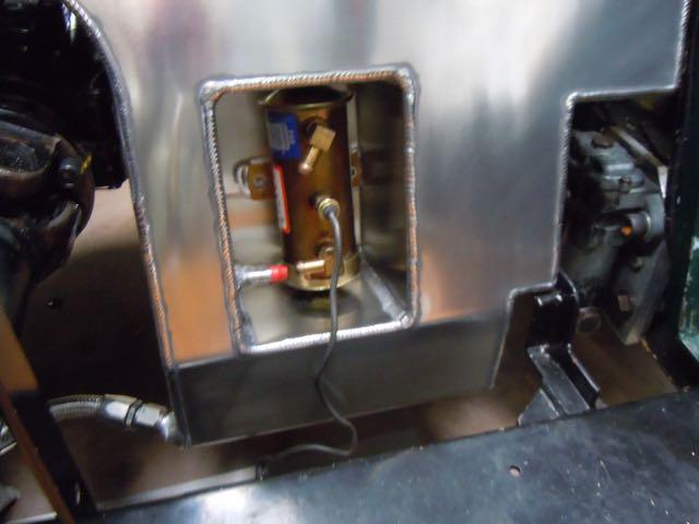 1936 Alta Fuel Tank - Recess for Fuel Pump